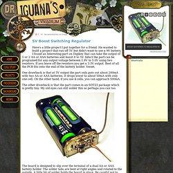 The Mechanical Vivarium of Dr. Iguana