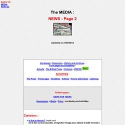 The media : NEWS