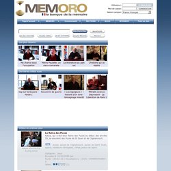 The MEMORO Project