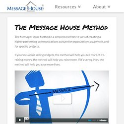 How to make a Message House