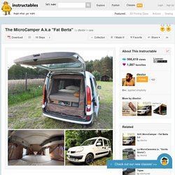 "The MicroCamper A.k.a ""Fat Berta"""