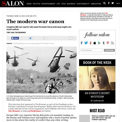 The modern war canon - The Browser