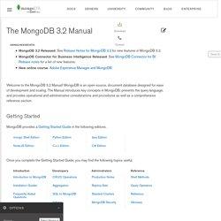Home - MongoDB - 10gen Confluence