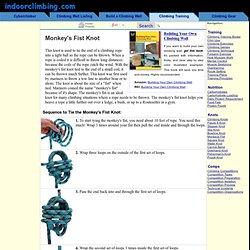 The Monkey's Fist Knot