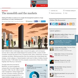 BlackRock: The monolith and the markets