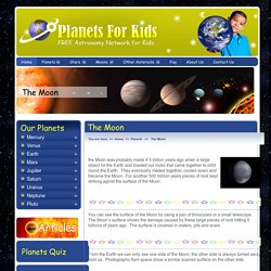 The Moon - Facts About The Moon For Kids