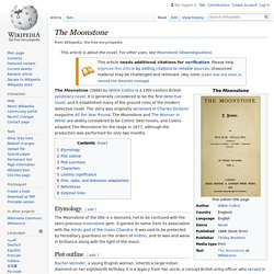 The Moonstone - Wikipedia