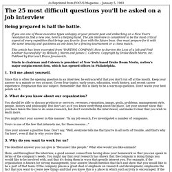 The 25 most difficult questions - StumbleUpon