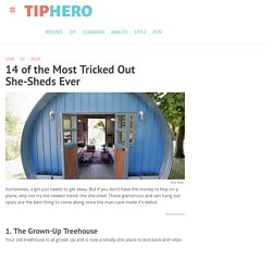 14 of the Most Tricked Out She-Sheds Ever