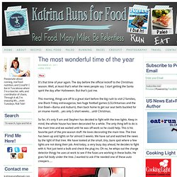 The most wonderful time of the year | Katrina Runs For Food