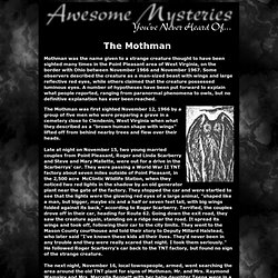 presents: Awesome Mysteries You've Never Heard Of