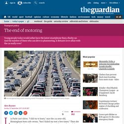 The end of motoring | Politics