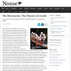 The Movements: The Theatre of Cruelty