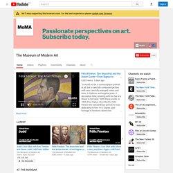 Vidéos du Museum of Modern Art (MoMA à New York)