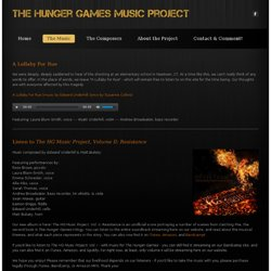 The Music - The Hunger Games Music Project