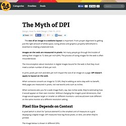 The Myth of DPI