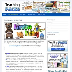 The Narrative Writing Pack -