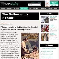 The Nation on its Honour