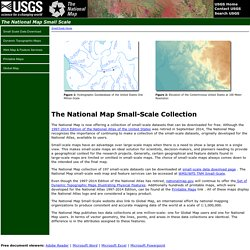 The National Map: Small Scale
