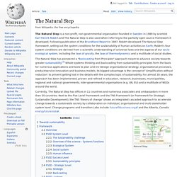 The Natural Step - Wikipedia