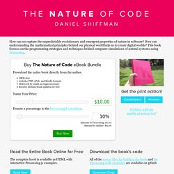 The Nature of Code
