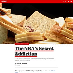 The NBA's secret addiction