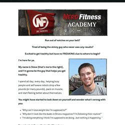 The Nerd Fitness Academy: Men's Fitness 101