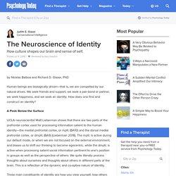 The Neuroscience of Identity