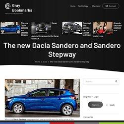 The new Dacia Sandero and Sandero Stepway