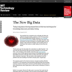 The New Big Data