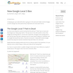 The New Google Local 3 Pack