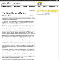The New Human Capital