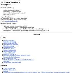 The New Physics by Al Zolynas