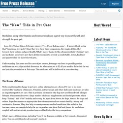 "The ""New"" Tide in Pet Care"