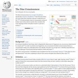 The Nine Consciousness