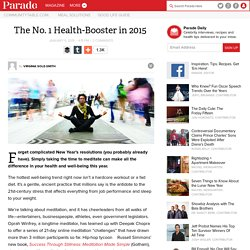 The No. 1 Health-Booster in 2015