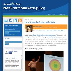 The Nonprofit Marketing Blog