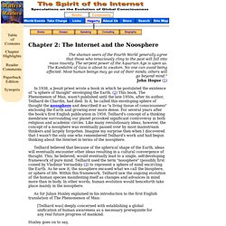 The Noosphere and the Internet