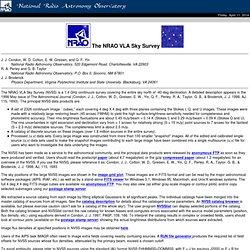 The NRAO VLA Sky Survey