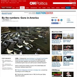 By the numbers: Guns in America