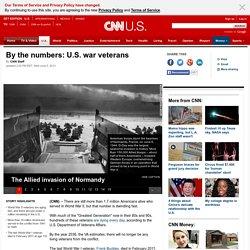 By the numbers: U.S. war veterans
