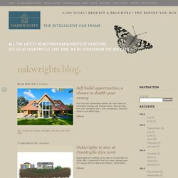 The Oakwrights Blog