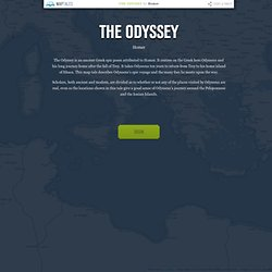 The Odyssey on Map Tales