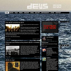 dEUS.be - The official dEUS site