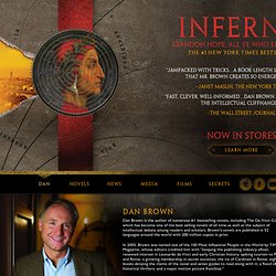 The Official Website of Bestselling Author Dan Brown