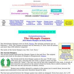 Olympics information
