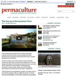 The One Acre Permaculture Farm