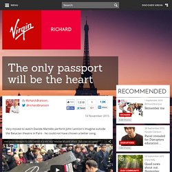 The only passport will be the heart