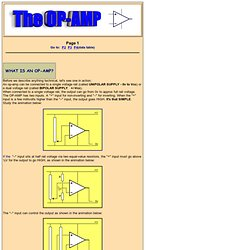 The OP-AMP