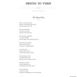 The Open Man « Driven to Verse